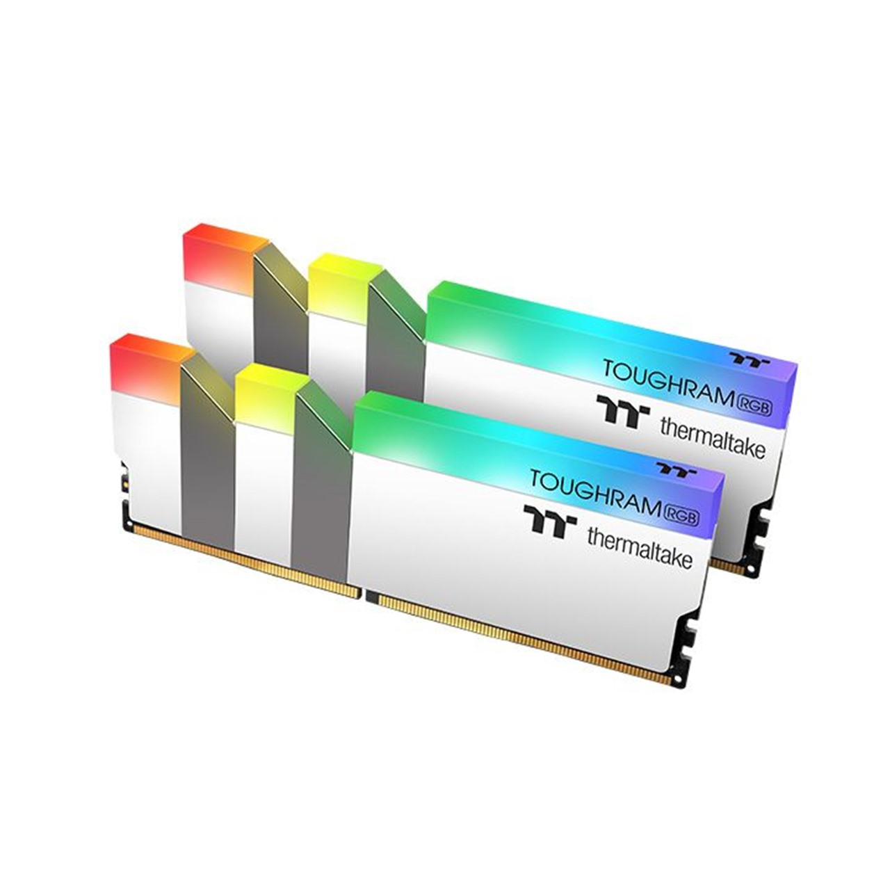 TOUGHRAM RGB Memory DDR4 16GB (8GB x 2)-White